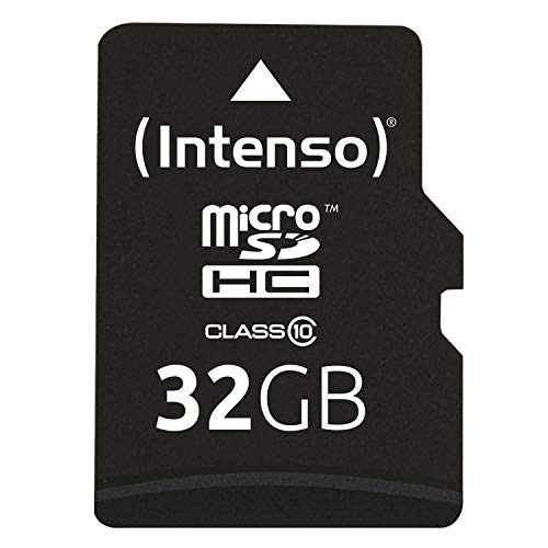 Intenso Micro SDHC 32GB Class 10 Speicherkarte inkl. SD-Adapter (Gb Tablet-android-16)
