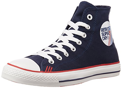 Superdry Retro Sport High Uomo Sneaker Blu