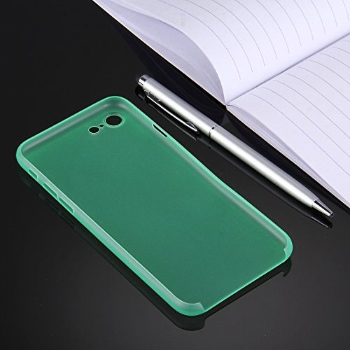 GHC Cases & Covers, Für iPhone 7 Ultrathin Superlight Transparente PP Schutzhülle ( Color : Orange ) Green