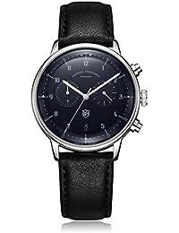 Dufa Deutsche Uhrenfabrik-Unisex-Armbanduhr-Hannes Chrono DF-9003-03 Quartz