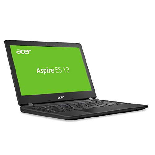 Acer Aspire ES 13 (ES1-332-C993) 33,8 cm (13,3 Zoll HD) Notebook (Intel Celeron N3450, 4GB RAM, 1000GB HDD, Intel HD Graphics 500, Win 10 Home) schwarz