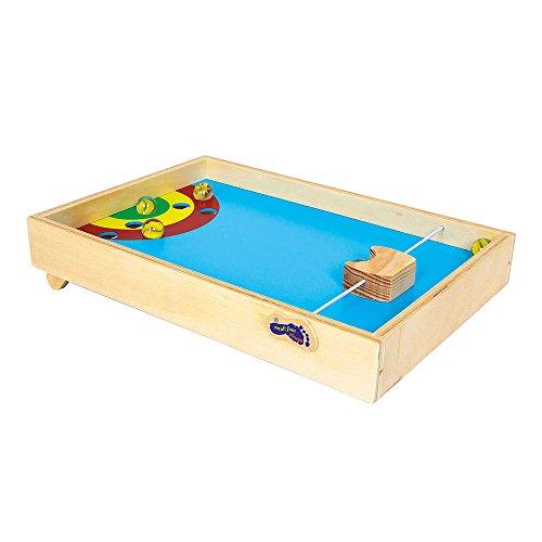 Legler pinball de mesa de madera para 4 a os for Pinball de mesa