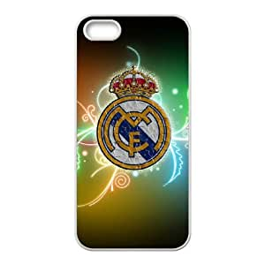Cnxx iPhone 4 4s Cell Phone Case White Real Madrid