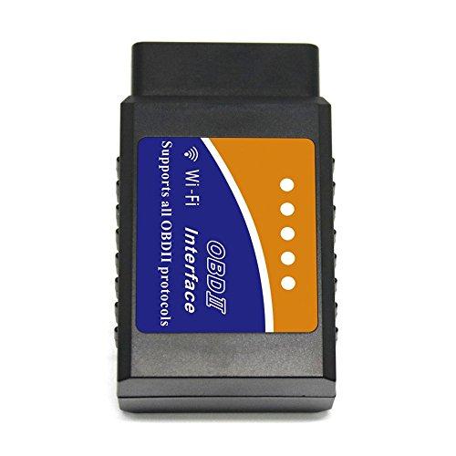 Preisvergleich Produktbild Wireless OBD2 Scanner,  OBDII OBD Wifi Car Auto Code Reader Scanning Tool,  OBD-II Engine Fault Diagnostic Code Tester,  Suitable for OBD-2 Vehicles