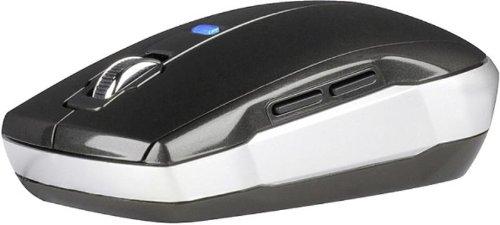 Speedlink Saphyr kabellose 5-Tasten-Maus (Bluetrace Sensor, 1600dpi) silber-schwarz