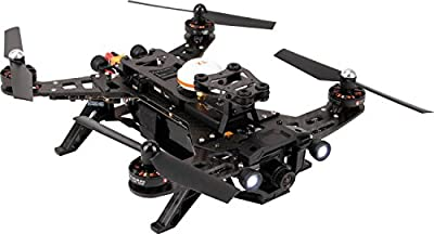XciteRC 15003600 – FPV Racing Quadcopter Runner 250 RTF FPV Drone with HD Camera, Battery, Charger and Devo 7 Remote Control by XciteRC