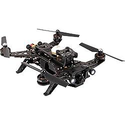 XciteRC 15003600 - FPV Racing-Quadrocopter Runner 250 RTF - FPV-Drohne mit HD Kamera, Akku, Ladegerät und Devo 7 Fernsteuerung