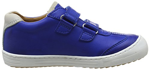 Bisgaard Unisex-Kinder Velcro Shoes Low-Top Blau (26 Cobalt)