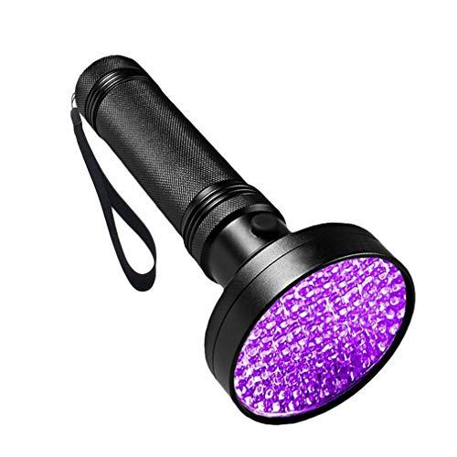 Chenqi UV-Taschenlampe - HIGH DEFINITION UV-Licht 100 LEDs Haustier Hund Katze Urin Flecken Scorpion Bed Bug Detector UV-Schwarzlicht Inspektion