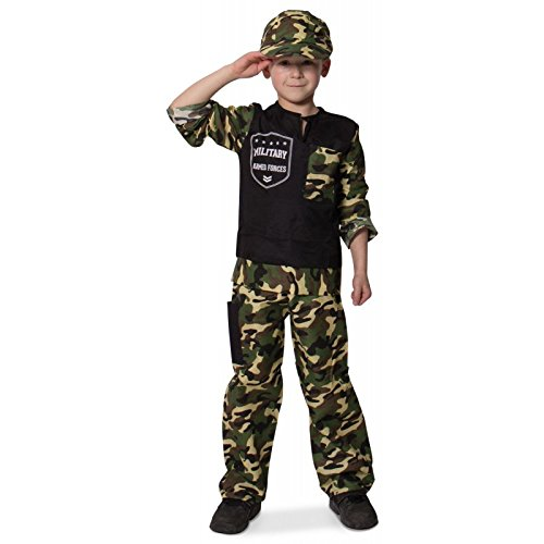 Kinderkostüm Soldat, Größe  116 - 134 (6-8 Jahre)