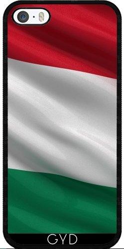 Coque pour Iphone 5/5S - Drapeau De Hongrie by Carsten Reisinger Silicone