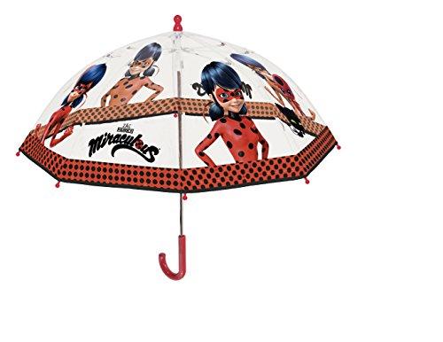 PERLETTI 75260, Paragua Diseño Miraculous-Lady Bug