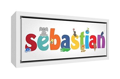 Little Helper Napperon avec Coaster Style Illustratif Coloré avec le Nom de Jeune Garçon Erwan