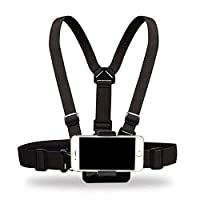 Yoogeer Cellphone Selfie Chest Mount Chest Harness Strap with Cell Phone Clip For iPhone X 8 7 6 + Samsung Galaxy note LG Sony