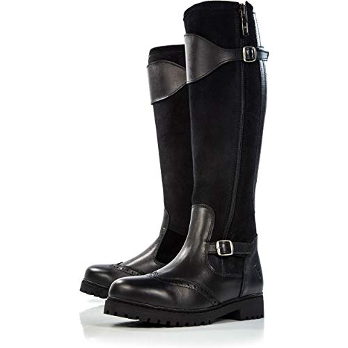 Derby House Pro Leather and Suede Long Riding Boots