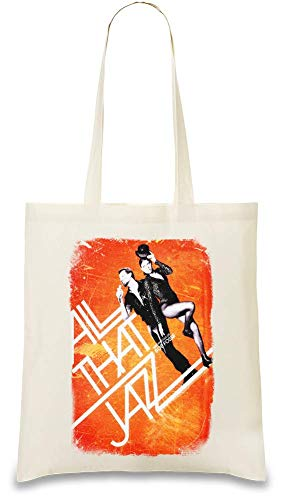 All dieses Jazz Poster - All That Jazz Poster Custom Printed Tote Bag| 100% Soft Cotton| Natural Color & Eco-Friendly| Unique, Re-Usable & Stylish Handbag For Every Day Use| Custom Shoulder Bags By (Jazz All That Poster)