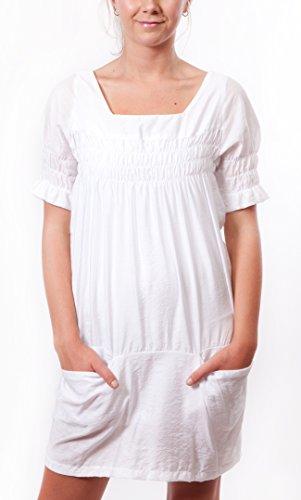 brava-robe-tunique-manches-courtes-femme-blanc-blanc-38-blanc-38