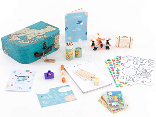 Mummy TamTam Coffret Voyage Enfant 3-6 Ans, Petit Voyageur, Coffret Cadeau, Activités Enfants, Unisexe Filles ou Garçons