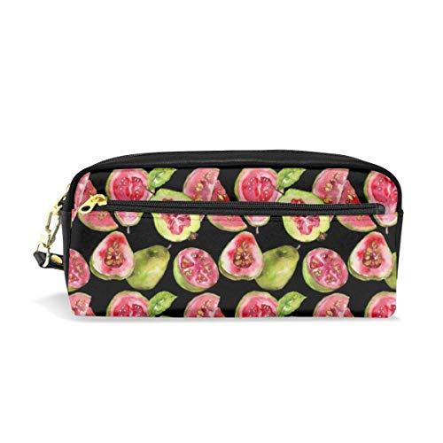 Federmäppchen Guave Gesundes Muster Große Kapazität Stift Bleistift Tasche Schreibwaren Veranstalter -