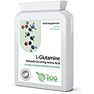 L-Glutamine 500mg 90 Capsules | High Strength Targeted Release Amino Acid Supplement | UK Manufactured | Quality Guaranteed
