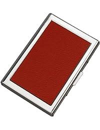 URAQT Tarjetero de Crédito Aluminio Cartera de Acero Inoxidable -RFID Caja Tarjeta Proteger la Información de Crédito con 6 Ranuras