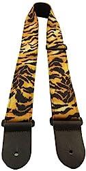 Perris Leathers FWS20-58 5 cm Nylon mit Designer-Stoff und Lederenden, voll verstellbar mit Tri-Glide
