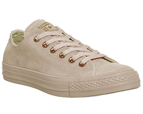 Converse  Chuck Taylor All Star Mono Ox,  Sneaker unisex adulto Bisque Rose Gold Exclusive
