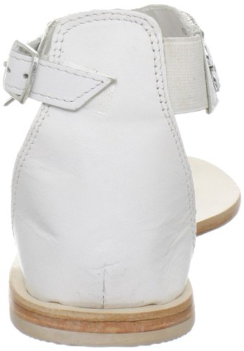 Chinese Laundry Shocking Femmes Cuir Sandales Gladiateur white