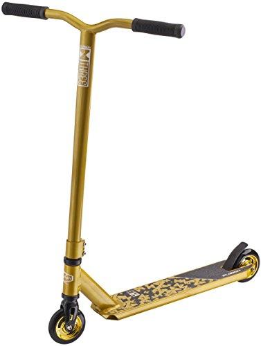 Fuzion X-3 Trottinette Freestyle - Trottinette - Stunt Scooter/Trick Pro Scooter Professionnnel - Plusieurs Coloris Disponibles (Gold)
