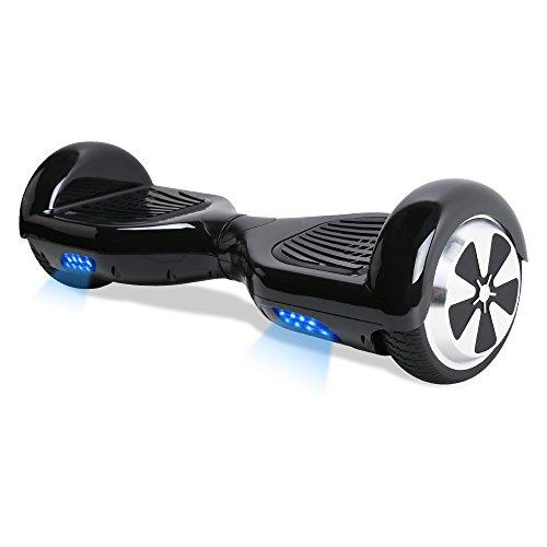 TOEU Hoverboard 6,5 Pouces Smart Skateboard Scooter Électrique Overboard Gyropode, Hover Board pour Enfant Adulte, Moteur-700W Tout-Terrain