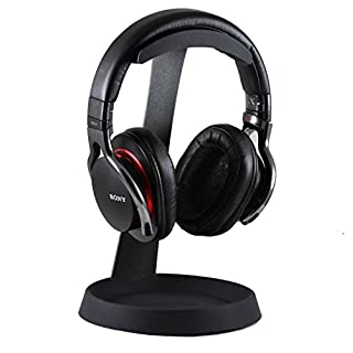 Navitech Steel On Ear & Over Ear Wireless / Bluetooth Headphones Stand Holder For allimity Active Noise Cancelling Bluetooth Headphones
