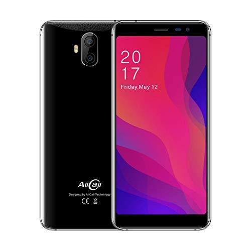 BZLine Smartphone, Allcall Rio X Android 8,1, 1G + 8G, 5,5 Zoll Display, 2850 mAh Akku, WiFi, Bluetooth, Doppelkamera Smartphone Europäische Version