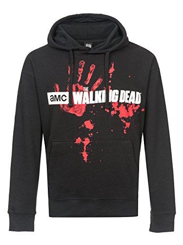 The Walking Dead Zombie Horde Sweat à capuche noir Noir