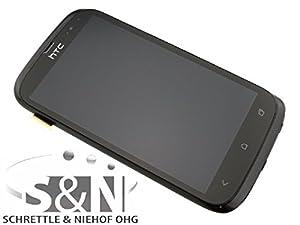 NG-Mobile Original HTC Desire X Display Touchscreen LCD Rahmen Glas Digitizer schwarz