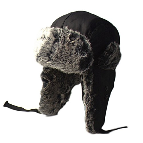 Crazyhats Russian Hat Fur Winter Hats For Men