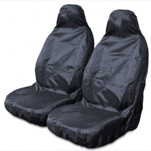 Carseatcover-UK BLKWPSPFP920 Car Seat Covers, Heavy Duty, Waterproof, Black