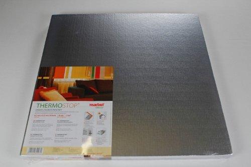 1 m2 50 x 50 cm alluminio glacette lastre con isolamento THERMO-STOP 4 da parete
