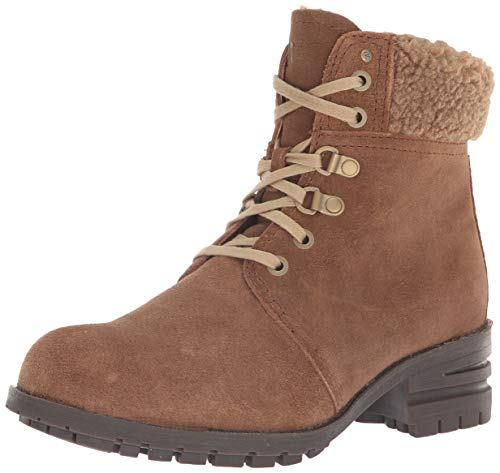 Caterpillar Cora Fur Womens Synthetic Material Ankle Boots Brown