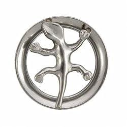 Flesh Tunnel Unisex Steel Rock Steel Ear Plug Stretcher Expander (16)