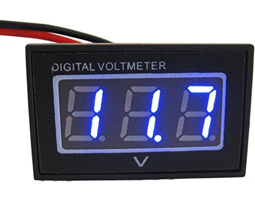 'yeeco resistente al agua 0.4LED de Pantalla Digital Voltímetro Power Panel Meter...