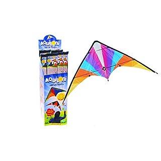 Globo Toys Globo–37228140x 74cm 6Verschiedene Sommer Kite mit 2Griffen in Einem Karton (24)