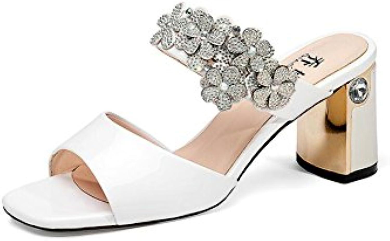DALL Escarpins Ly-745 Anti-dérapant Open-toed Résistant À L'usure Chaussures Pour Femmes Open-toed Anti-dérapant Talons Hauts  s...B07DGXQ9PGParent c88102