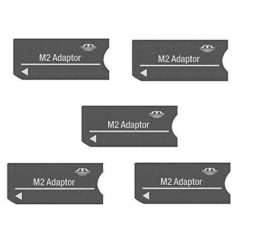 Sony M2 Card to Sony Memory Stick Adaptor MSAC-MMS Combo of 5Pcs Only from M.P Enterprise