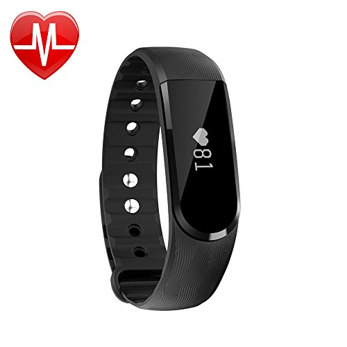 LETSCOM Fitness Tracker Watch with Heart Rate Monitor, Bluetooth 4.0 OLED Touch...