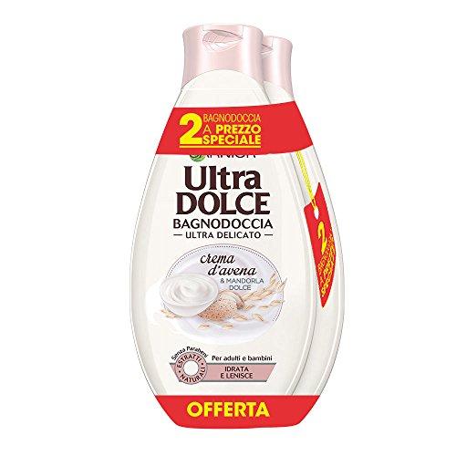 Scheda dettagliata Garnier Ultra Dolce Bagnodoccia Ultra Delicato Idrata e Lenisce Crema d'Avena & Mandorla Dolce - Confezione da 2 X 500 ml