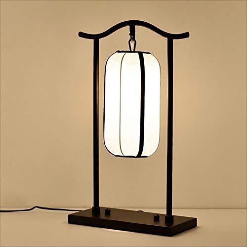 Button Kopfteil (DDHZTA Schlafzimmerbett Lampblack Classic Iron Desk Lampe-60cm * 35cm * 16cm-Schlafzimmer-Kopfteil Kreative E27 Schreibtischklampe-Push Button Switch)