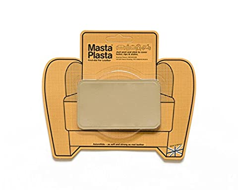 New Colour! Beige MastaPlasta Self-Adhesive Leather Repair Patches. Choose size/design. First-aid for sofas, car seats, handbags, jackets