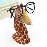 EisEyen Giraffe Brillenhalter Holz Brillenständer Sonnenbrille Halter