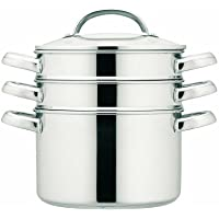 Prestige Stainless Steel 24 cm Multi Steamer - Silver