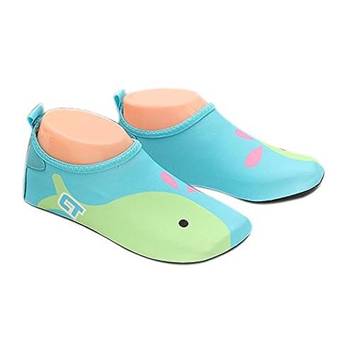 Chaussettes De Natation Enfant - lzndeal Chaussures de Sport de natation Aquatique